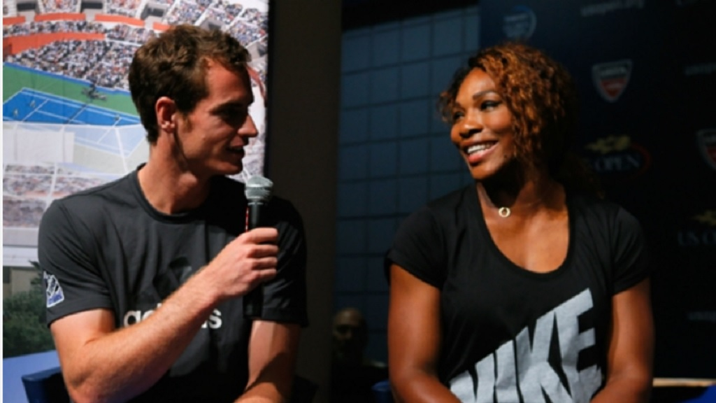 Andy Murray and Serena Williams.