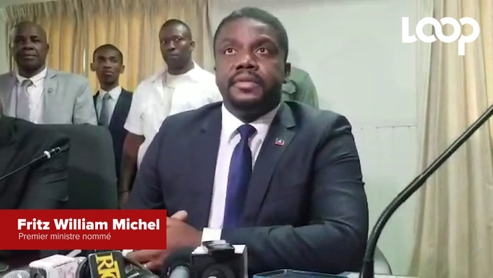Le premier ministre nommé, Fritz William Michel