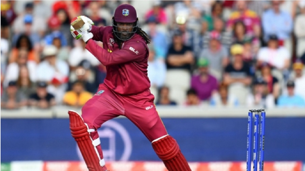 Destructive Jamaican opener Chris Gayle.