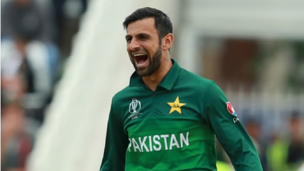 Pakistan's Shoaib Malik.