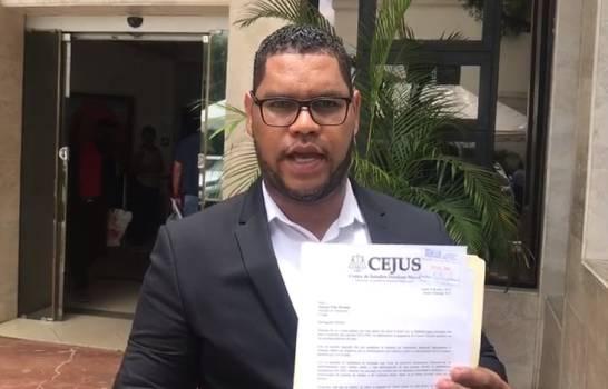 Kelvin Ortiz Faña, directeur du CEJUS. Photo: Diario Libre