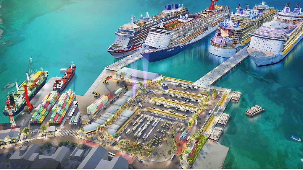 Pictured: Here's what the new cruise berthing facility will look