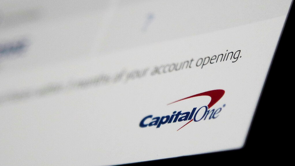 This Monday, July 22, 2019, photo shows Capital One mailing in North Andover, Mass. Capital One says a hacker got access to the personal information of over 100 million individuals applying for credit.  (AP Photo/Elise Amendola)