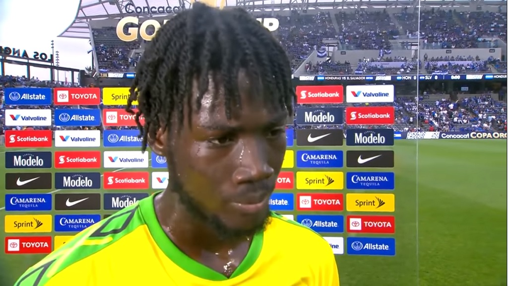 Jamaican internationalShamar Nicholson.