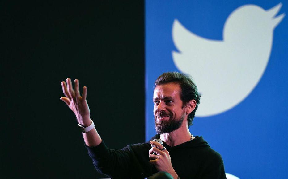 @jack est la première adresse de l'histoire de Twitter. Prakash SINGH / AFP