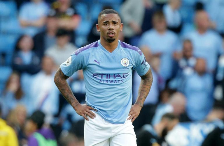 Le joueur de Manchester City Gabriel Jesus après la défaite à domicile face à Tottenham le 17 août 2019