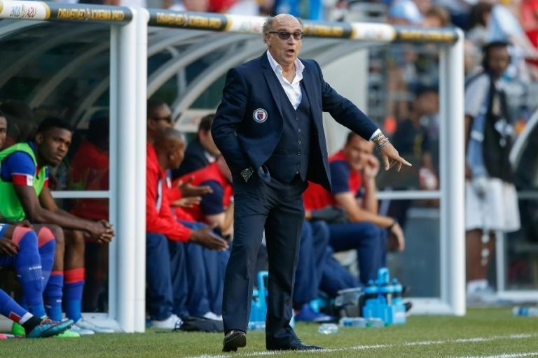 L'ancien entraineur de l'équipe haitienne, Patrice Neveu./Photo: Otto Greule Jr.