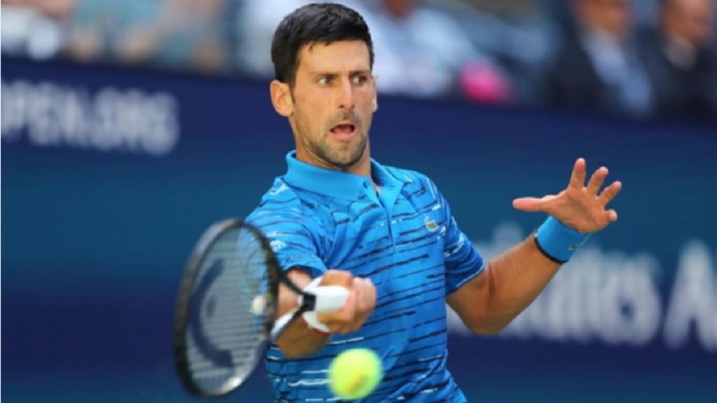 Serbian star Novak Djokovic.