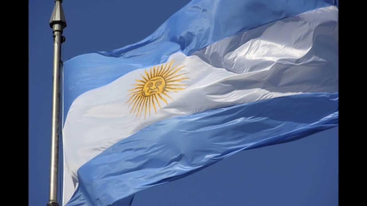 Drapeau de la République Fédérale d'Argentine.