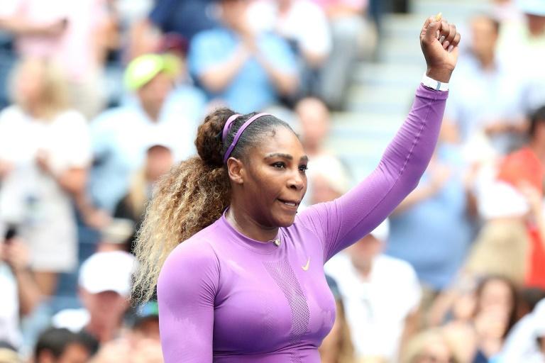 L'Américaine Serena Williams se qualifie pour les 8es de finale de l'US Open le 30 août 2019