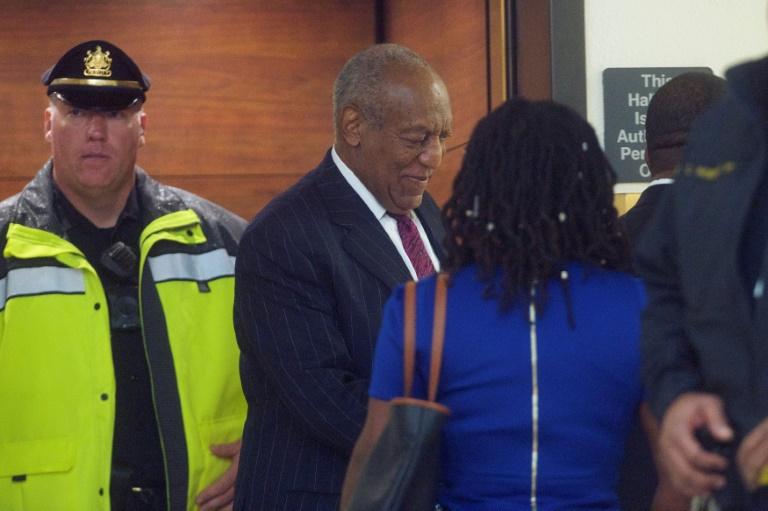 Bill Cosby arrive au tribunal pour le prononcer de sa peine après une condamnation pour agression sexuelle, le 25 septembre 2018 au palais de justice de Norristown, Pennsylvanie afp.com - Mark Makela