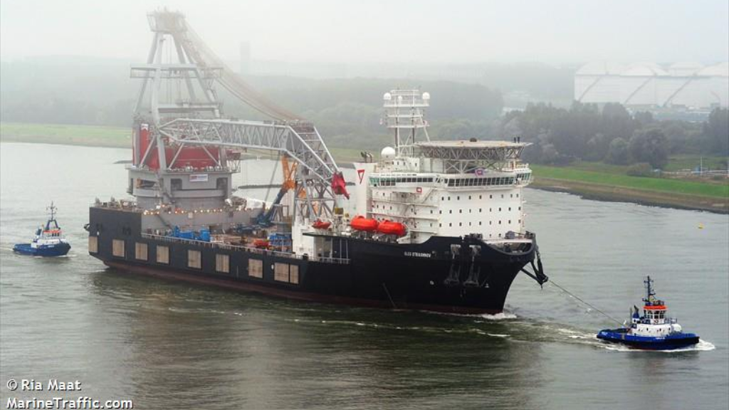 The Seaway Strashnov is due to dock in Chaguaramas early next month. Photo via marinetraffic.com.