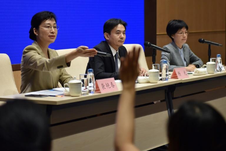 Conférence de presse des porte-parole du Bureau des affaires de Hong Kong et Macao, le 6 août 2019 à Pékin