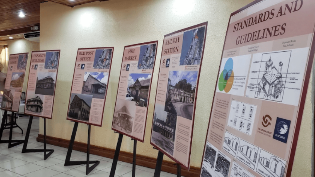 Six sites have been identified as part of the proposed Plaza San Carlos Heritage District. Photo: Darlisa Ghouralal.