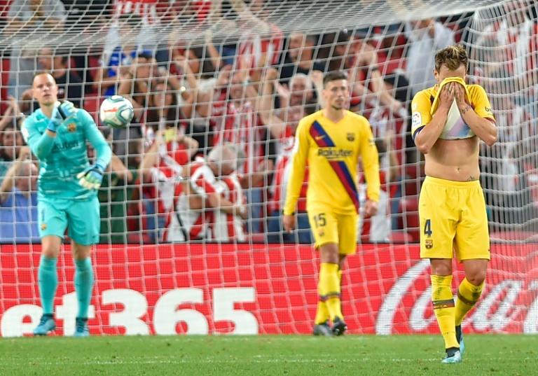 Les Barcelonais, défaits sur la pelouse de l'Athletic Bilbao le 16 août 2019, en ouverture de la saison, récupèrent Lionel Messi pour se relancer