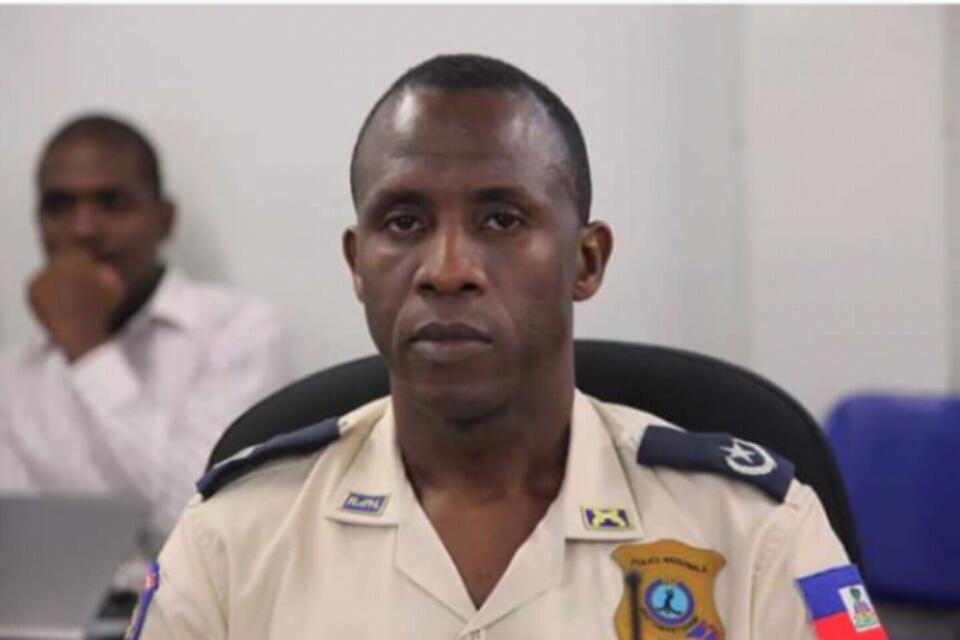 Photo de nouveau directeur général a.i de la Police Nationale d'Haïti