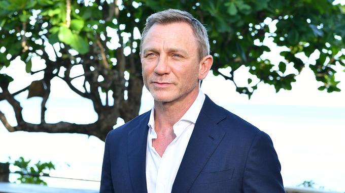 L'acteur Daniel Craig revêt le smoking de l'agent 007 pour le 25e épisode. SLAVEN VLASIC / GETTY IMAGES NORTH AMERICA / AFP
