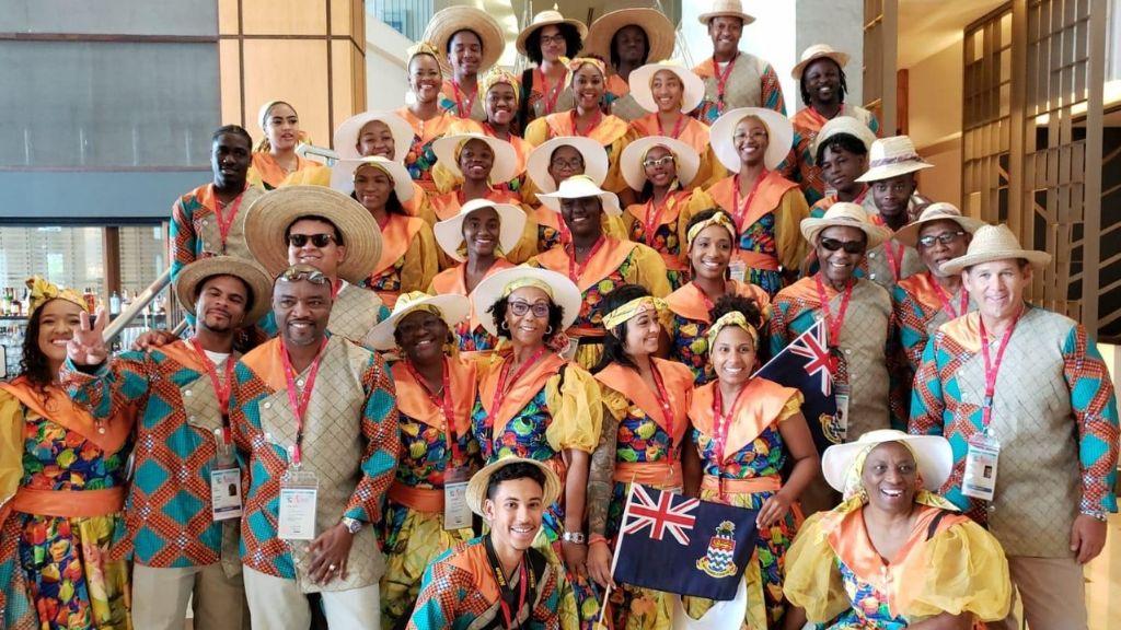 Cayman's CARIFESTA delegation.