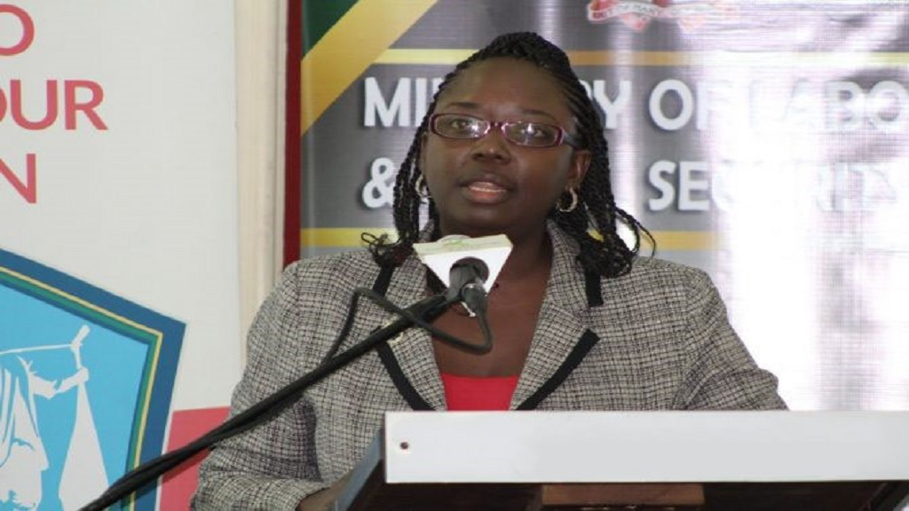 Director of the Child Labour Unit in the Ministry of Labour and Social Security, Sasha Deer-Gordon