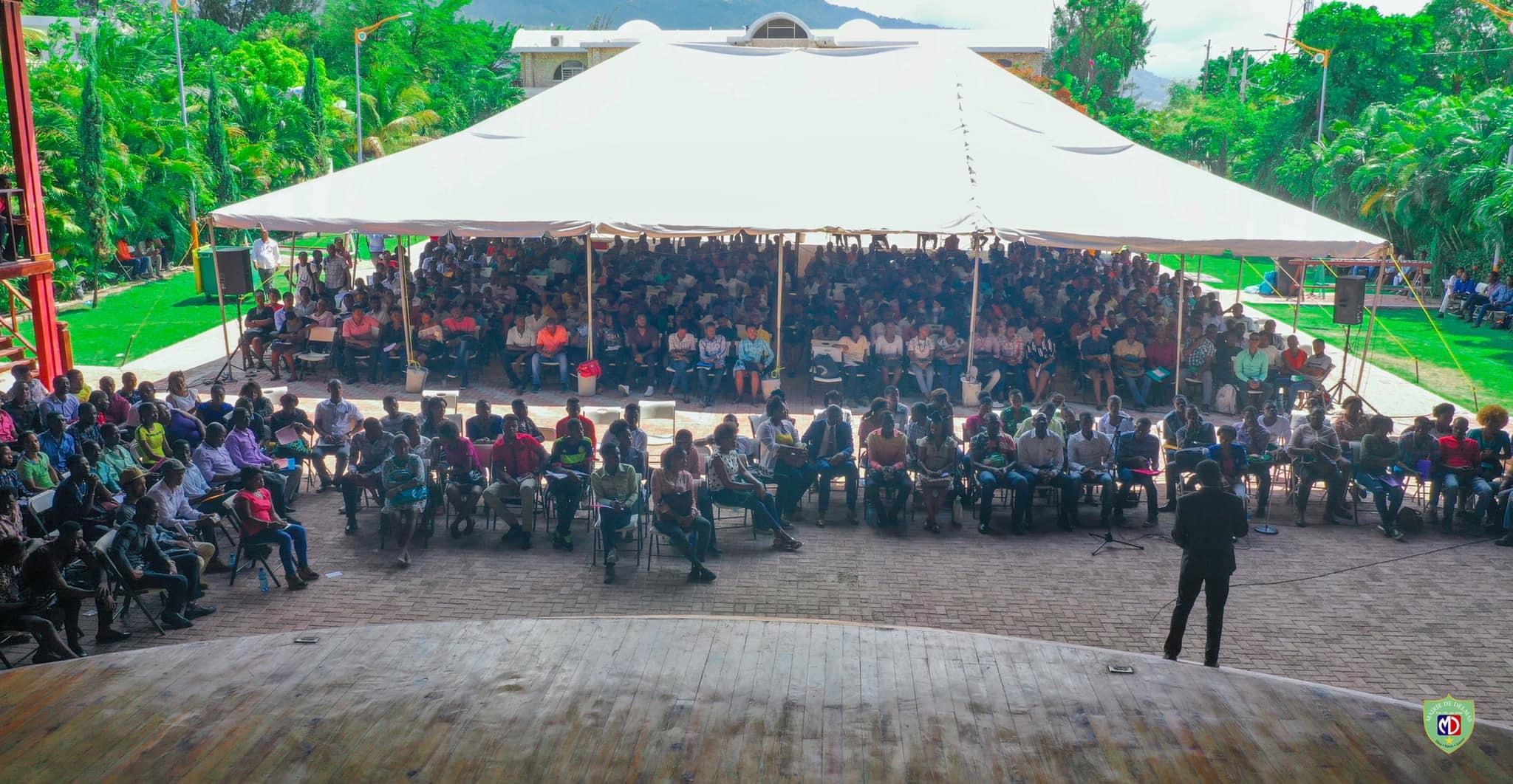Près de 1, 500 jeunes participent au programme de sensibilisation fiscale lancée par la mairie de Delmas depuis le lundi 5 aout et qui se poursuit jusqu'au dimanche 11./Photo: Mairie de Delmas.