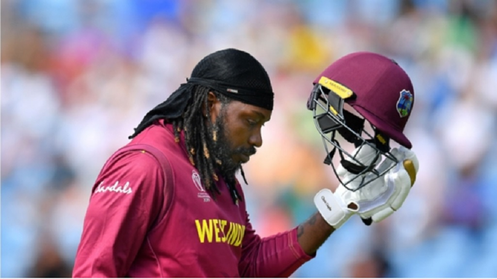 Chris Gayle failed to impress on his 299th ODI appearance.