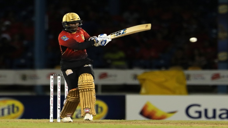 Denesh Ramdin played another crucial knock for the Knight Riders in the 2018 Hero CPL