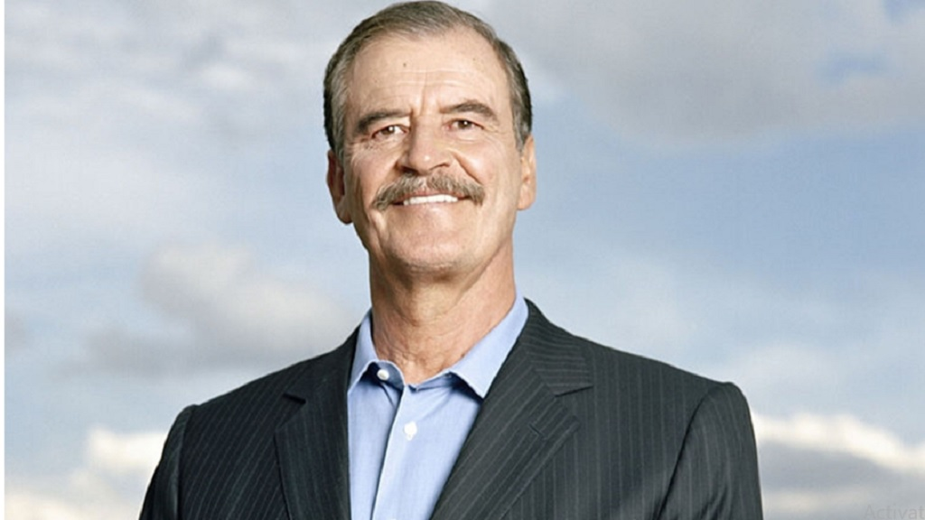 Former Mexican president, Vicente Fox.