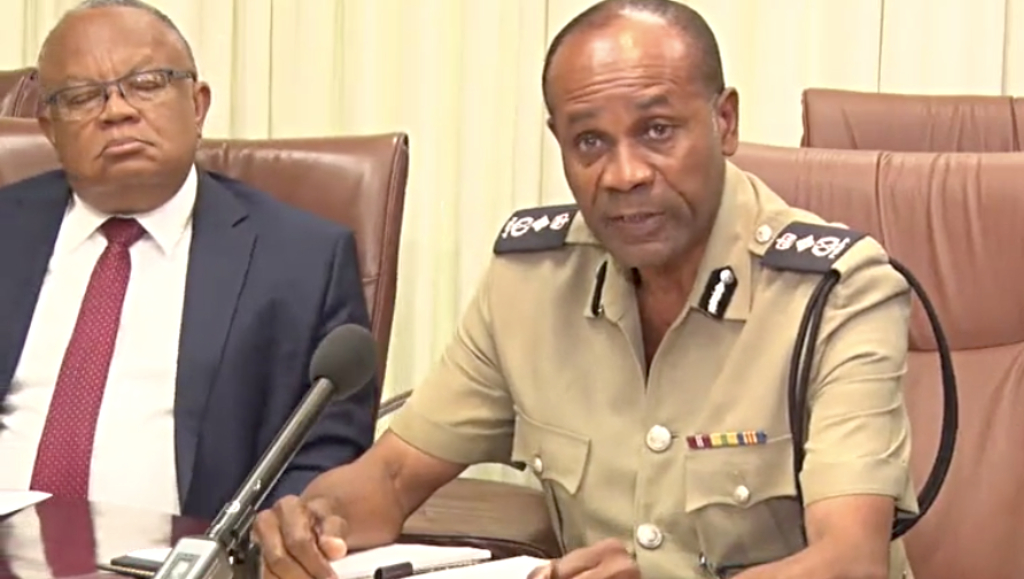 Commissioner of Police, Royal Barbados Police Force, Tyrone Griffith