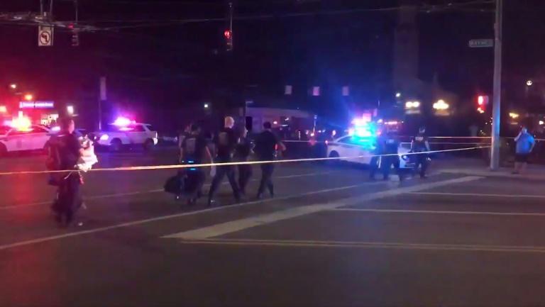 Extrait d'une vidéo tournée lors de la fusillade de Dayton, dans le nord-ouest des États-Unis, et publiée sur Twitter le 4 août 2019