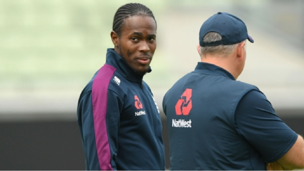 England fast bowler Jofra Archer.