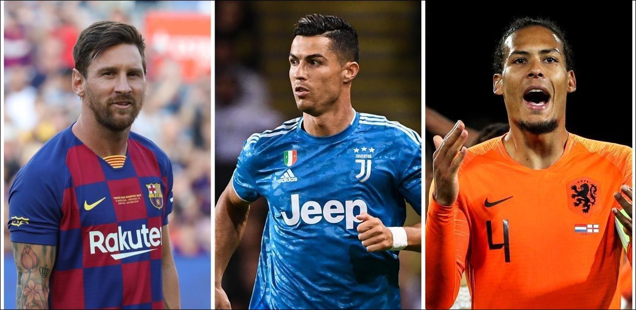 Prix UEFA du meilleur joueur: Messi, Ronaldo et Van Dijk en lice. Photo : lessentiel.lu
