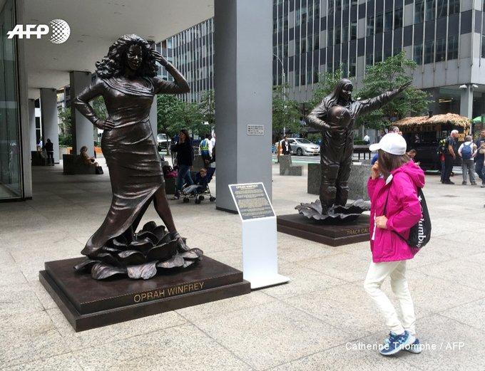 A New York, dix statues de femmes pour lutter contre le sexisme. Photo : AFP