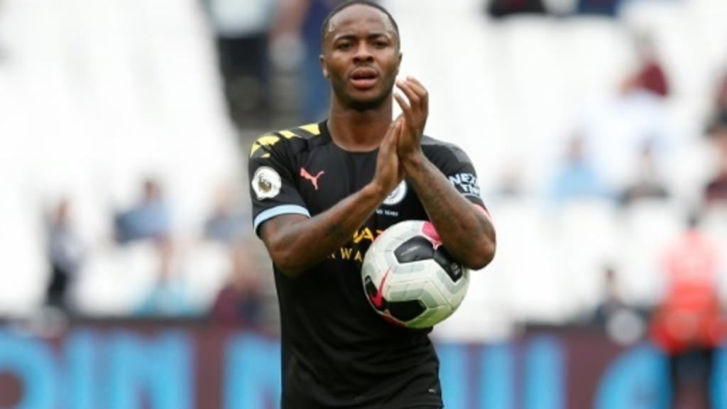 Raheem Sterling. Photo : AFP