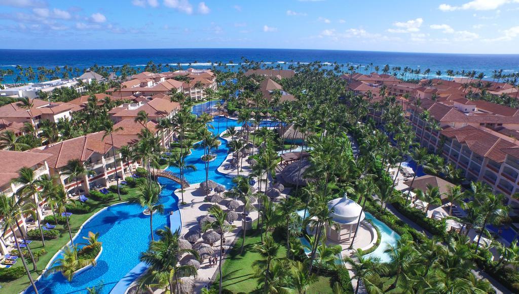 Une vue aérienne de l'hôtel 5 étoiles Majestic, situé à Punta Cana./Photo:  Booking.com