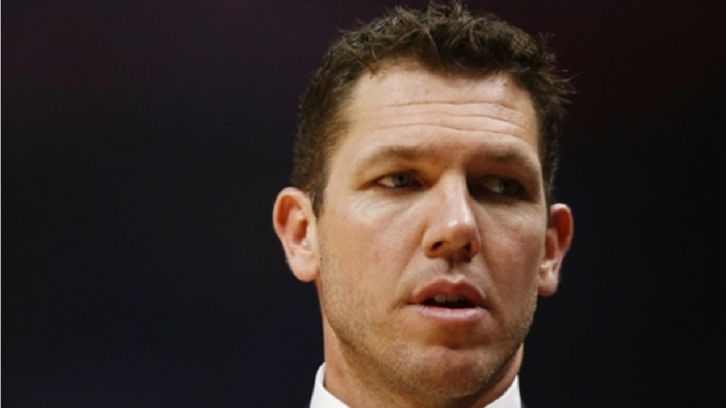 Basketball coach Luke Walton.