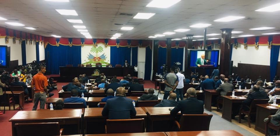 Vue de l'assemblée lors de la dernière séance pour la demande de mise en accusation du chef de l'Etat tenue de le 7 août 2019