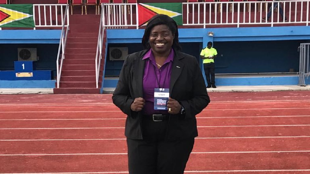 Chairman of the Jamaica Football Federation (JFF) Women's Football Committee , Elaine Walker-Brown.