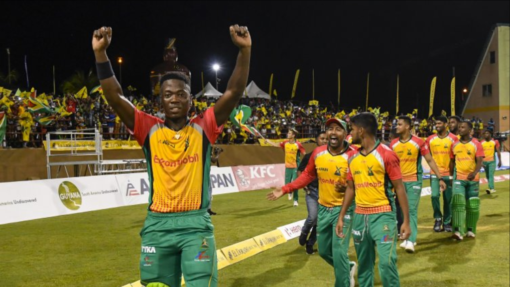 Guyana Amazon Warriors got past the Trinbago Knight Riders to make it to their 4th Hero CPL final