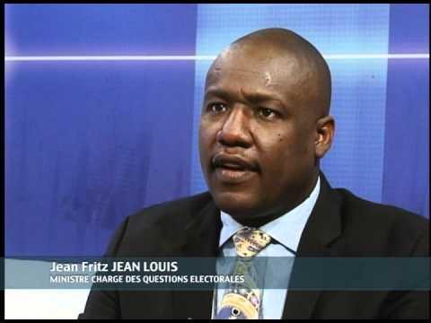 Jean Fritz Jean Louis, ex-délégué auprès du Premier ministre chargé des questions électorales sous la présidence de Joseph Michel Martelly