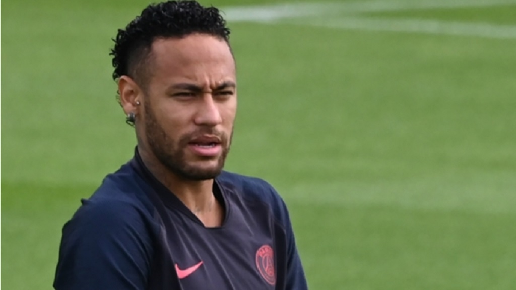 Paris Saint-Germain star Neymar.