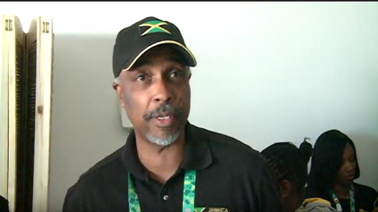 President of the Jamaica Olympic Association (JOA), Christopher Samuda at the Olympic Village at the Youth Olympic Games in Buenos Aires, Argentina.