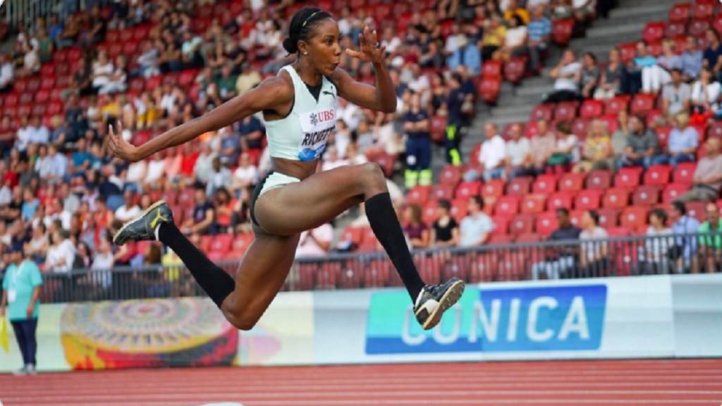 Jamaica's Shanieka Ricketts has emerged as a solid medal favourite in the women's triple jump in Doha.