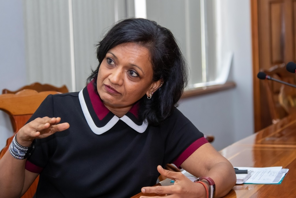Outgoing IMF Chief of Mission to Jamaica, Dr Uma Ramakrishnan shared five things she thinks Jamaica can be proud as the country looks to officially end its relationship with the  IMF. (Photo: Shawn Barnes)