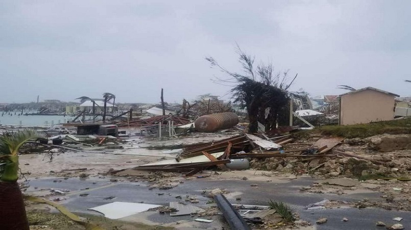 Scenes from Abaco where Hurricane Dorian landed earlier this week.