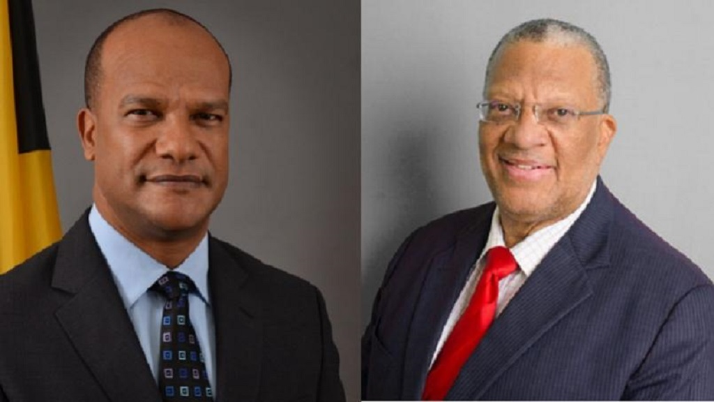 Peter Bunting (left) and Dr Peter Phillips.