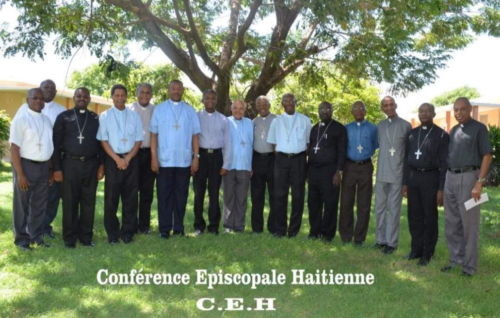 Page Facebook Conference Episcopale d'Haïti. Photo prise en 2014.