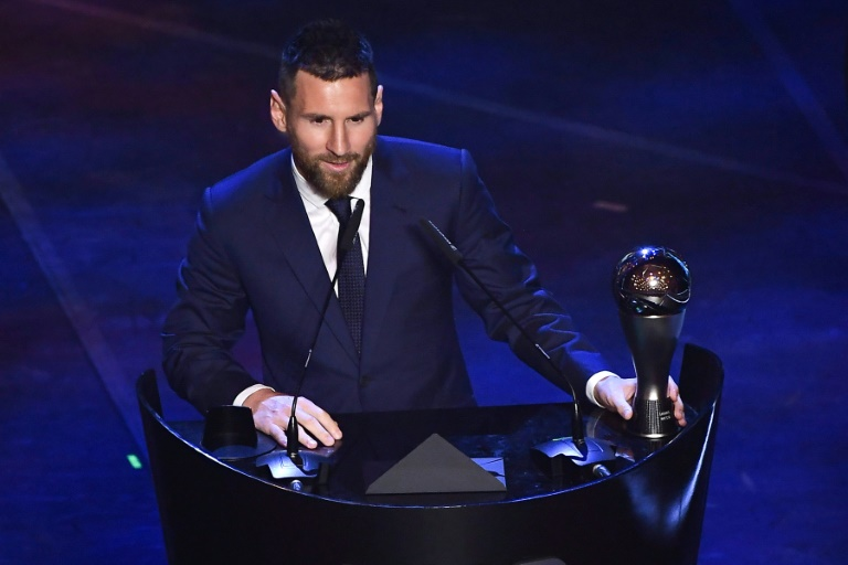 The Best: Messi largement en tête du vote