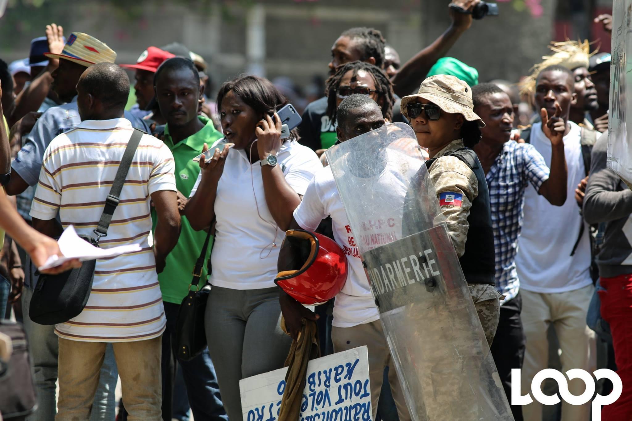 Journée nationale de mobilisation contre le pouvoir en place prévue le 20 septembre dans la capitale et dans tous les principaux départements du pays./Loop Haiti-Luckenson.