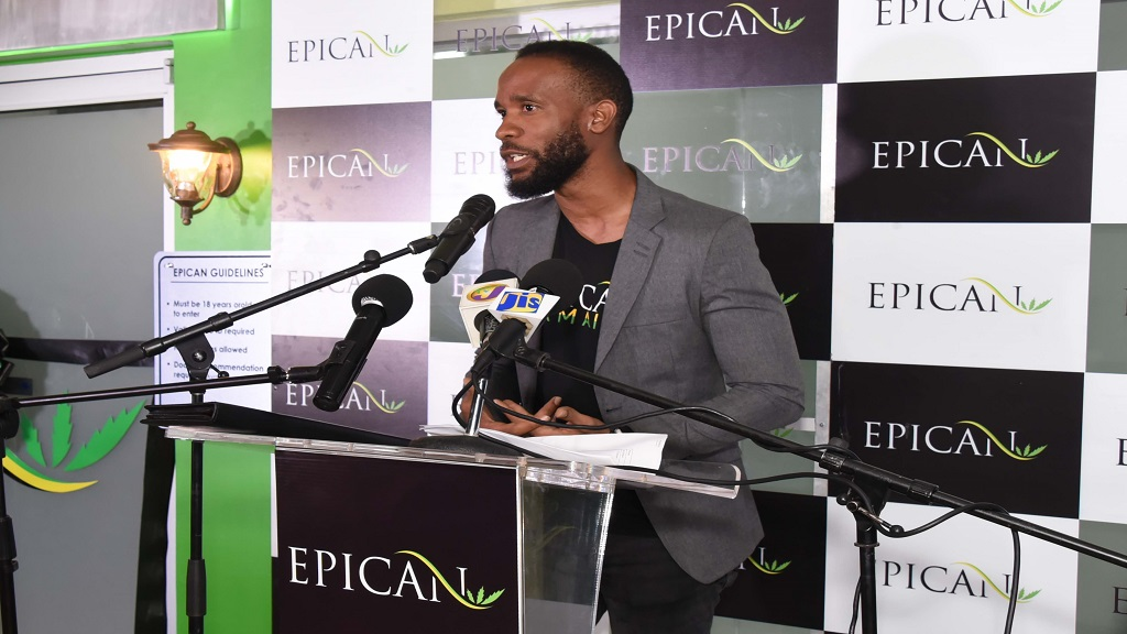 Jermaine Gibbons, Head of Marketing, Epican Medicinals.