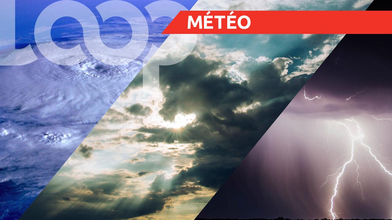 «Les activités de pluies et d'orages sont toujours prévues sur certains endroits du pays aujourd'hui».